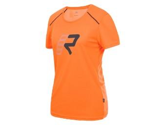 Damen T-Shirt RUKKA ALEXA orange