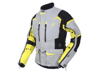 GoreTex Jacke Rimo-R 2 Lagen Laminat silver-yellow