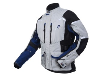 GoreTex Jacke Rukka Rimo-R 2 Lagen Laminat grey-blue