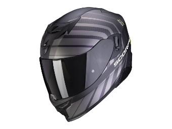Integralhelm Scorpion EXO 520 Air Shade matt-schwarz -neongelb