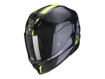 Integralhelm Scorpion EXO 520 Air Laten schwarz-neongelb