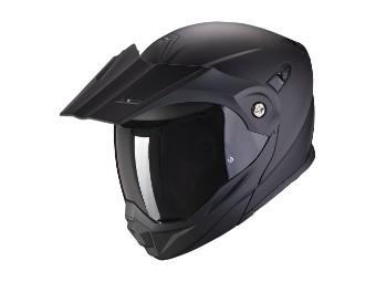 Enduro Klapphelm Scorpion ADX-1 Solid matt-schwarz