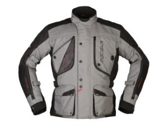 Textiljacke Modeka Aeris grau schwarz