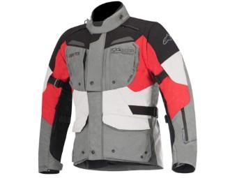 DURBAN Gore Tex Jacke grey-black-red