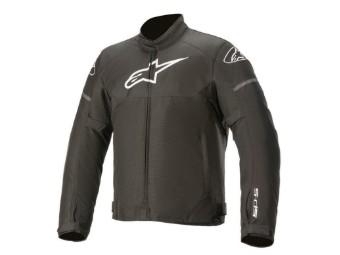 T-SPS wasserdichte Motorrad Textiljacke schwarz