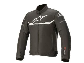 T-SPS Wasserdichte Motorrad Textiljacke schwarz-weiss