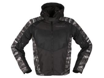 Textiljacke Modeka Couper 2 schwarz-camouflage