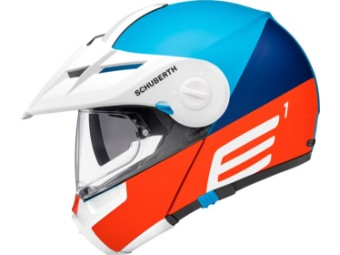 Enduro Klapphelm Schuberth E1 Cut Blue
