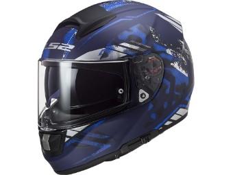 Integralhelm LS2 FF397 Vector EVO Stencil matt blue