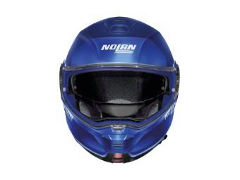 Klapphelm Nolan N100-5 Plus Distinctive N-COM Flat Imperator Blue