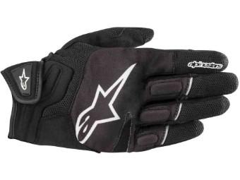 Handschuh Atom schwarz-weiss