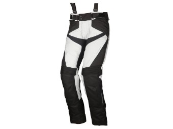 Textil Hose Modeka Lonic schwarz-hellgrau