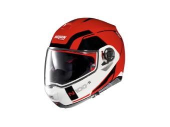 Klapphelm Nolan N100-5 Consistency N-COM Corsa Red