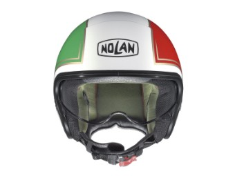 Jethelm Nolan N21 Tricolore Green-White-Red