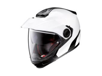 Jethelm Nolan N40/5 GT Classic N-COM Metal White