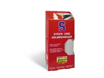 S100 Visier-und Helmreiniger inkl. Miktofasertuch 100ml