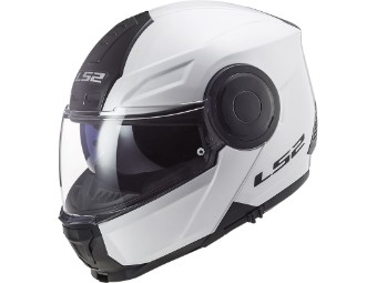 Klapphelm LS2 FF902 Scope Solid weiss