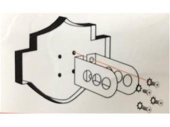"""Anhängerkupplungsaufsatz """"B&S"""""""