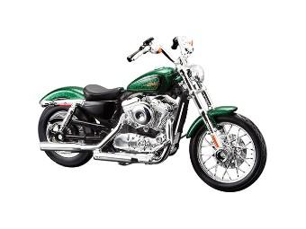 "Modell ""2012 XL 1200V Seventy-Two Hard Candy Custom Lucky Green Flake"""