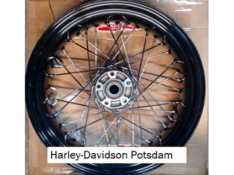 Softail Speichenrad Spoked Rear Wheel 17x6 Stainless Steel Spokes