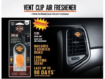 """Lufterfrischer-Clip """"Fiber Disc Vent"""""""