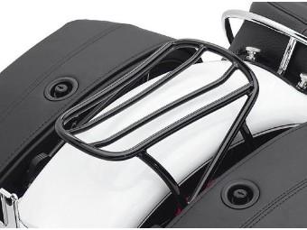 Abnehmbarer Solo Gepäckträger - schwarz für Softail Modelle '00-'05
