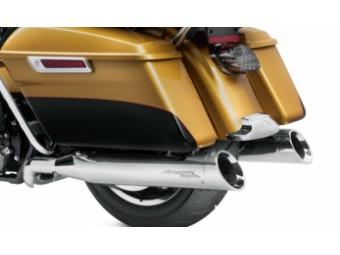 Screamin´Eagle Street Cannon Slip-On Sportschalldämpfer Touring Chrom