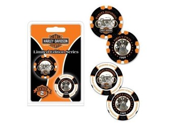 """Poker Chips """"H-D Limited Serie 2"""""""