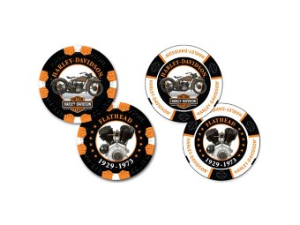 """Poker Chips """"H-D Limited Serie 3"""""""