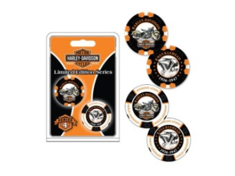 """Poker Chips """"H-D Limited Serie 4"""""""