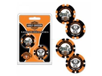 """Poker Chip """"H-D Limited Ser. 7"""""""