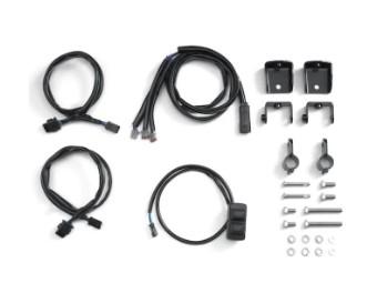 Auxiliary Light Installation Kit Zusatzscheinwerfer Kit - Pan America