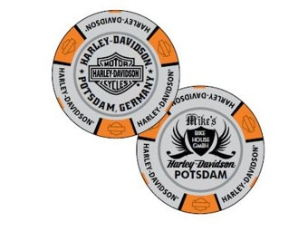 "Pokerchip ""H-D Potsdam Grey"""
