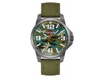 """Armbanduhr """"B&S Camouflage"""""""