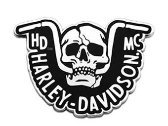 "Pin ""H-D Handlebar Skull"""