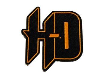 """Aufnäher """"H-D Black&Orange"""""""