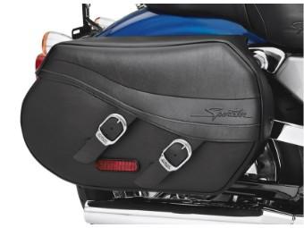 Kunstleder-Satteltaschen - für XL Modelle ab '04