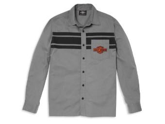 "Hemd ""Pocket Logo Colorblock Mechanics"""
