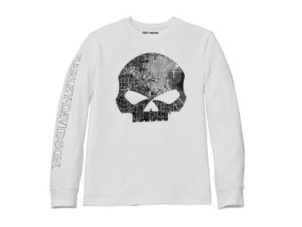 "Longsleeve ""Milwaukee Map Skull"""