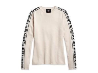 "Pullover ""Jaquard Sleeve"""
