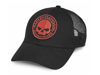 """Basecap """"Skull orange"""""""