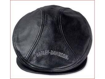 "Flat-Cap ""Nostalgic Trademark Leather"" Ivy Cap"