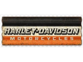 "Wandbild ""HD Motorcycles Corrugated"""