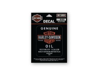 "Aufkleber ""Genuine Oil"""