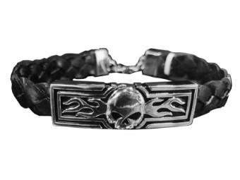"""Armband """"Flaming Skull"""""""