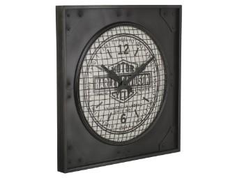 """Wanduhr """"H-D Industrial Metal Clock"""""""