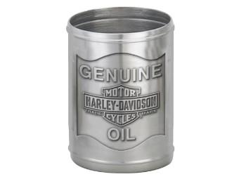 """Gläser Set """"H-D Oil Can Pewter Shot Set"""""""