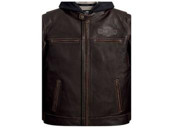 """Geld-/ Gutscheinkarte """"Men`s Leather Jacket"""""""