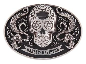 "Gürtelschnalle "" Harley Vida"""