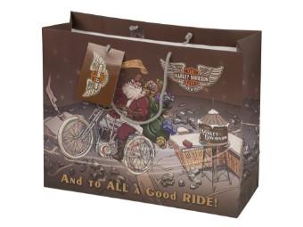 """Geschenktüte """"Biker Santa Gift Bag"""""""